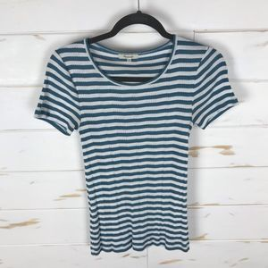 Madewell Ribbed Striped Tee